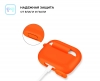 Airpods Pro Silicon case Orange (in box) рис.3