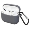 Airpods Pro Silicon case Dark Grey (in box) рис.1