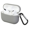 Airpods Pro Silicon case Light Grey (in box) мал.1
