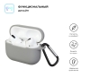 Airpods Pro Silicon case Light Grey (in box) рис.2