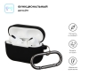 Airpods Pro Ultrathin Silicon case with hook Black (in box) мал.2