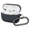 Airpods Pro Ultrathin Silicon case with hook Advanced Grey (in box) мал.1