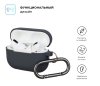 Airpods Pro Ultrathin Silicon case with hook Advanced Grey (in box) рис.2