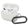 Airpods Pro Ultrathin Silicon case with hook Noctilucent (in box) рис.1