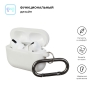 Airpods Pro Ultrathin Silicon case with hook Noctilucent (in box) рис.2