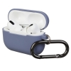 Airpods Pro Ultrathin Silicon case with hook Lavender (in box) рис.1