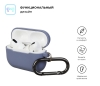Airpods Pro Ultrathin Silicon case with hook Lavender (in box) мал.2