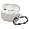 Airpods Pro Ultrathin Silicon case with hook Rock (in box) рис.1