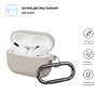 Airpods Pro Ultrathin Silicon case with hook Rock (in box) рис.2