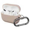 Airpods Pro Ultrathin Silicon case with hook Pink Sand (in box) рис.1