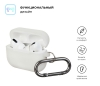 Airpods Pro Ultrathin Silicon case with hook White (in box) рис.2