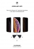 Защитное стекло ArmorStandart Icon 3D Anti-spy для Apple iPhone 11 Pro Max/XS Max Black рис.4