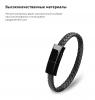 Кабель Armorstandart Lightning Portable Wrist Band Leather Cord Flat 22,5cm Black рис.2