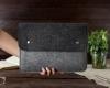 Чехол для ноутбука Gmakin для Macbook Air/Pro 13,3 черно-серый (GM05) мал.11