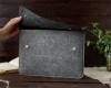 Чехол для ноутбука Gmakin для Macbook Air/Pro 13,3 черно-серый (GM05) мал.12