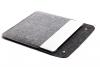 Чехол для ноутбука Gmakin для Macbook Air/Pro 13,3 черно-серый (GM05) рис.5