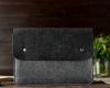 Чехол для ноутбука Gmakin для Macbook Air/Pro 13,3 черно-серый (GM05) рис.8
