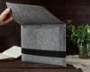 Чехол для ноутбука Gmakin для Macbook Air/Pro 13,3 светло-серый, горизонтальный, на резинке (GM15) мал.11
