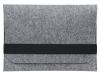 Чехол для ноутбука Gmakin для Macbook Air/Pro 13,3 светло-серый, горизонтальный, на резинке (GM15) мал.2