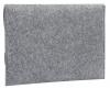 Чехол для ноутбука Gmakin для Macbook Air/Pro 13,3 светло-серый, горизонтальный, на резинке (GM15) мал.4