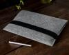 Чехол для ноутбука Gmakin для Macbook Air/Pro 13,3 светло-серый, горизонтальный, на резинке (GM15) мал.9