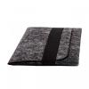 Чехол для планшета Gmakin для iPad 9.7/10.5 темно-серый, горизонтальный, на резинке (GT02) мал.2
