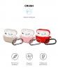 Комплект чехлов Armorstandart для Airpods Pro Silicon with hook 3 шт.(Pink, Pink Sand, Red) мал.2