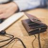 Seyvr Phone Charging Wallet 1400mAh lightning Brown мал.2