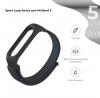 Ремешок нейлоновый ArmorStandart для Xiaomi Mi Band 6/5 Black мал.2