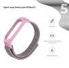 Ремешок нейлоновый ArmorStandart для Xiaomi Mi Band 6/5 Pink мал.2