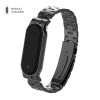 Ремешок Armorstandart Metal Band для Xiaomi Mi Band 5 Black рис.1