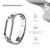 Ремешок Armorstandart Metal Band для Xiaomi Mi Band 5 Silver рис.2