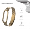 Ремешок Armorstandart Metal Band для Xiaomi Mi Band 5 Vintage Gold рис.2