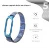 Ремешок Armorstandart Milanese Magnetic Band для Xiaomi Mi Band 5 Khaki Blue рис.2