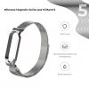 Ремешок Armorstandart Milanese Magnetic Band для Xiaomi Mi Band 5 Silver рис.2