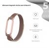 Ремешок Armorstandart Milanese Magnetic Band для Xiaomi Mi Band 5 Rose Gold рис.2