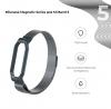 Ремешок Armorstandart Milanese Magnetic Band для Xiaomi Mi Band 5 Titanium Grey рис.2