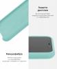 Silicone Case Original for Apple iPhone 11 Pro Max (OEM) - Beryl мал.6