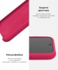 Silicone Case Original for Apple iPhone 11 Pro Max (OEM) - Pomegranate мал.6