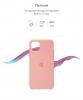 Silicone Case Original for Apple iPhone 11 Pro Max (OEM) - Grapefruit мал.3