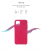 Silicone Case Original for Apple iPhone 11 (OEM) - Pomegranate мал.3