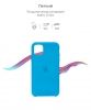 Apple iPhone 11 Silicone Case (OEM) - Surf Blue рис.3