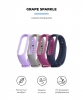 Комплект ремешков Armorstandart для Xiaomi Mi Band 5 Grape Sparkle рис.2