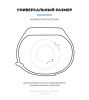 Комплект ремешков Armorstandart для Xiaomi Mi Band 5 Grape Sparkle рис.3