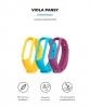Комплект ремешков Armorstandart для Xiaomi Mi Band 5 Viola Pansy рис.2