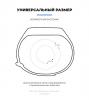 Комплект ремешков Armorstandart для Xiaomi Mi Band 5 Viola Pansy рис.3