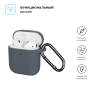 New Airpods Silicon case with hook advanced ash (in box) мал.2