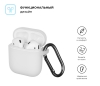 New Airpods Silicon case with hook transparent (in box) рис.2
