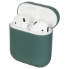 Airpods 2 Ultrathin Silicon case dark green (in box) рис.1