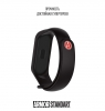 Ремешок ArmorStandart Superhero for Xiaomi Mi Band 6/5 Avengers Black мал.3